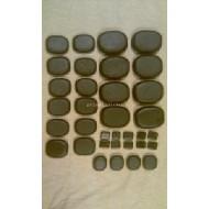 Lávové kameny gabbro 34 ks